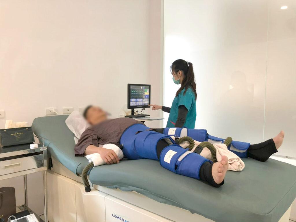 EECP體外反搏療程案例